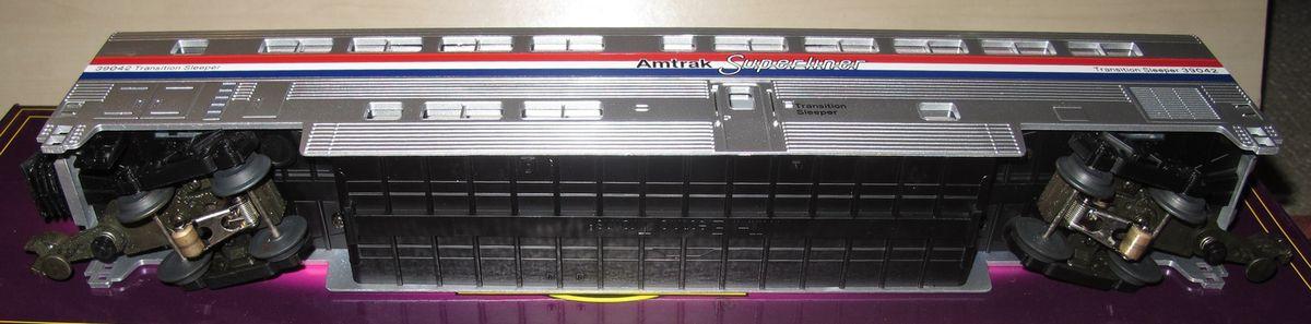 MTH Premier AMTRAK SuperLiner 3 rails échelle O