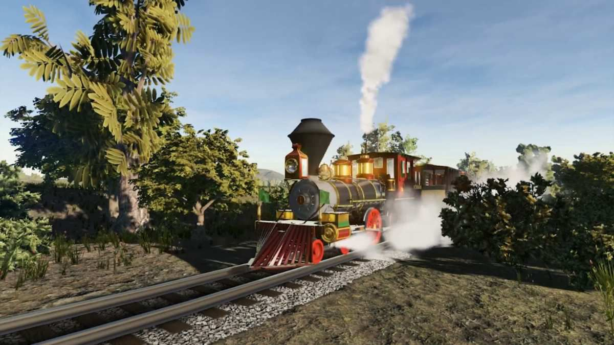 Disneyland Railroad Simulator en développement