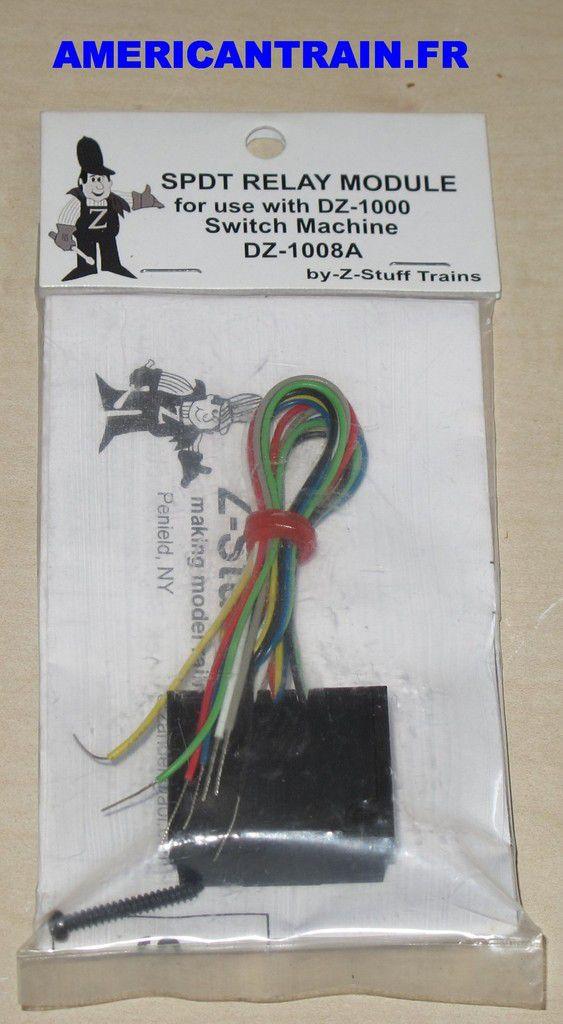 SPDT Relay Module DZ-1008A Z-Stuff