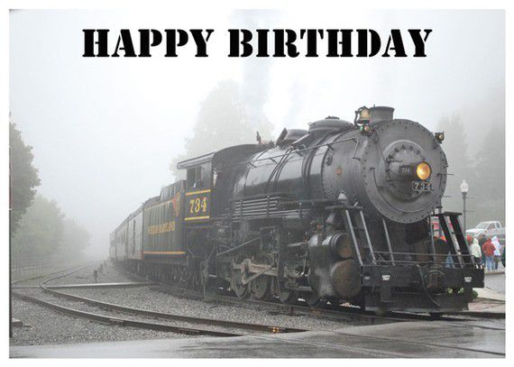 Pack exclusif HAPPY BIRTHDAY AMERICAN TRAIN