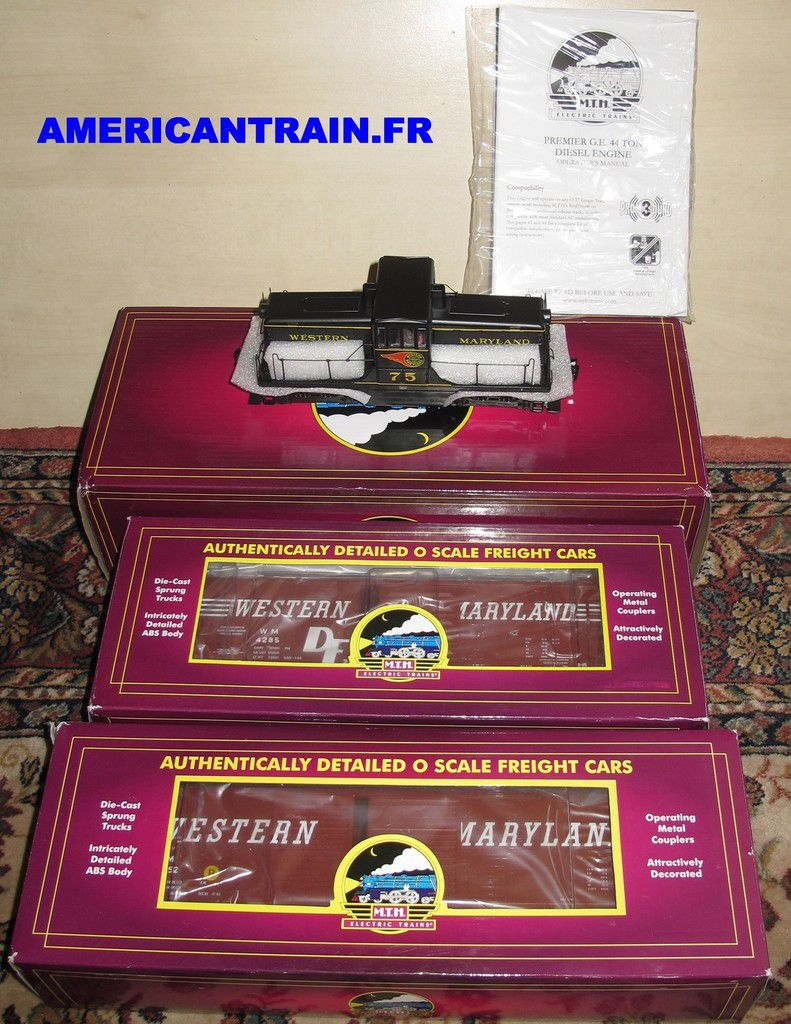RUPTURE du PACK EXCLUSIF AMERICAN TRAIN