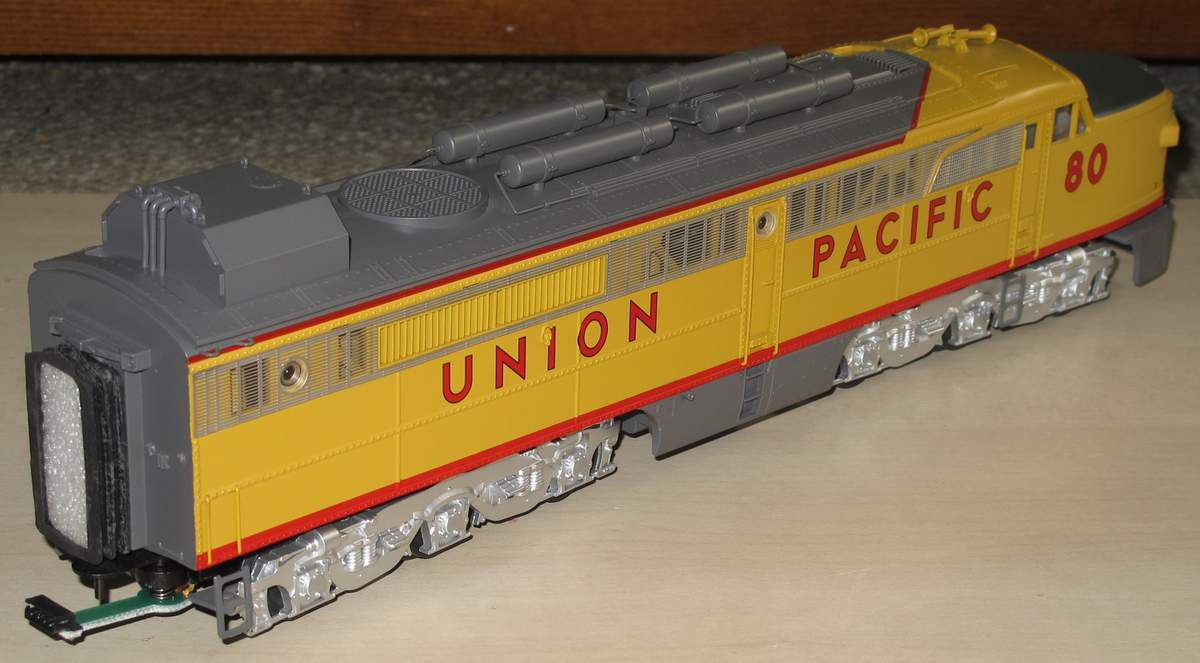 Conversion d'une MTH Premier Coal Turbine Union Pacific Partie 1