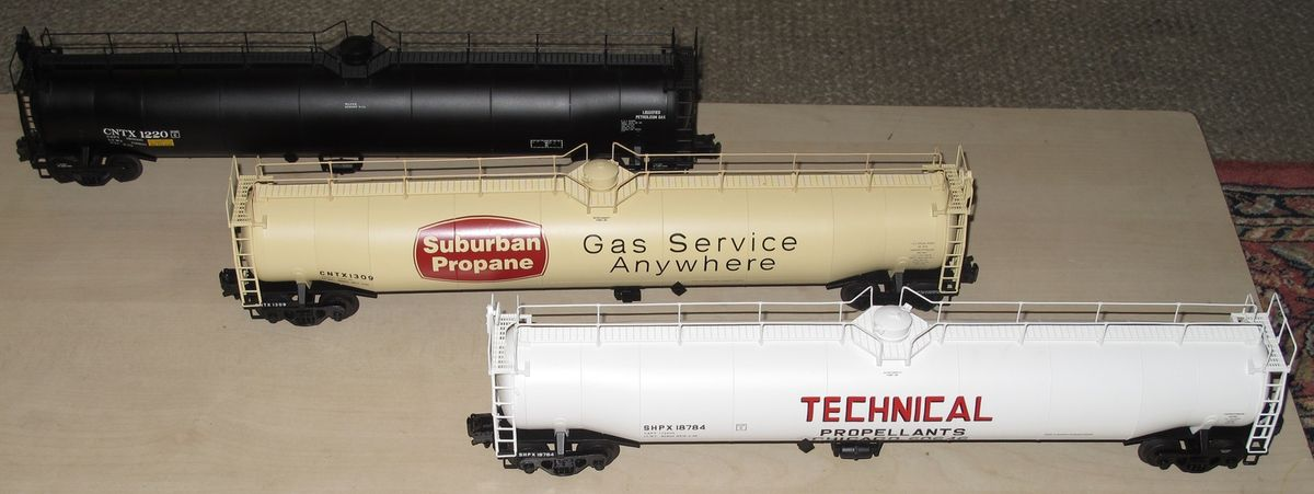 Les wagons citernes ACF 33,000 Gallon Tank Car ATLAS