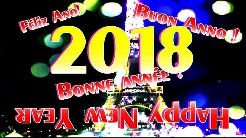 BONNE ET HEUREUSE ANNEE 2018