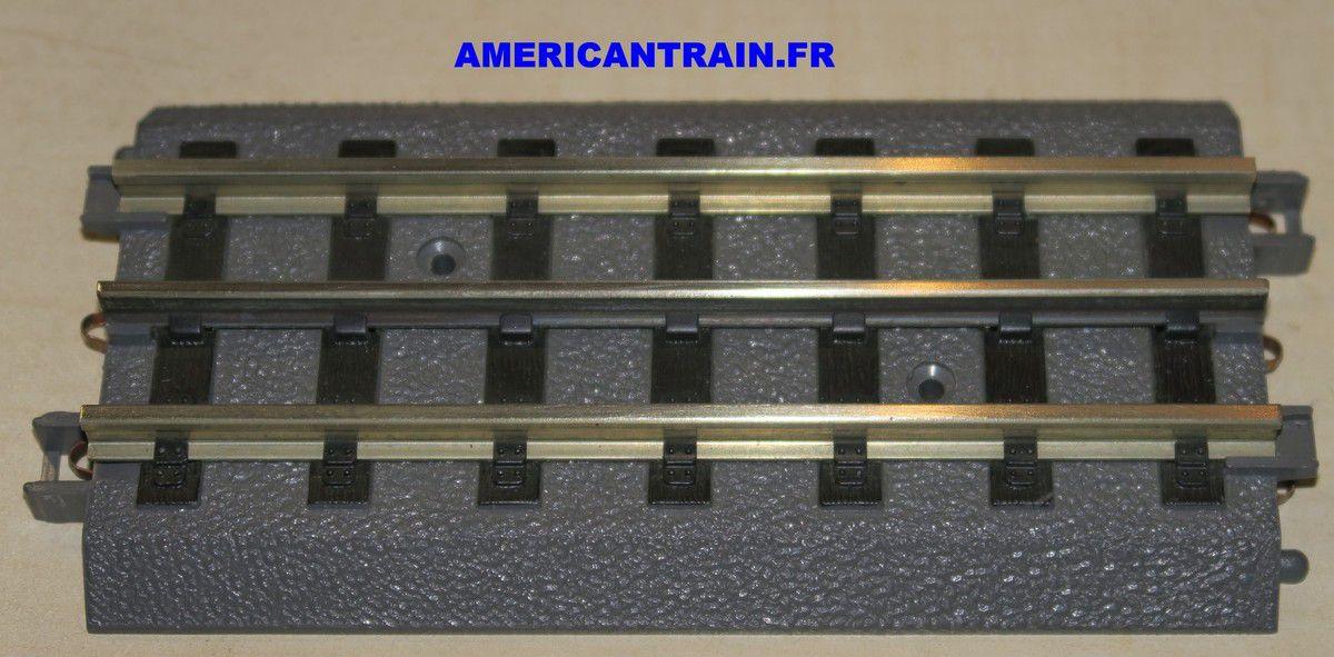 Rail droit RealTrax 5.5 Inch 40-1012 échelle O MTH