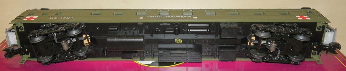 MTH Premier 70' Streamlined U.S. Army Hors Catalogue