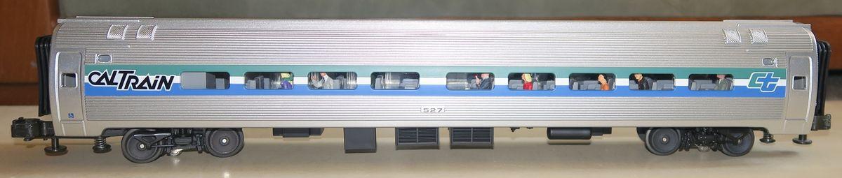 Train de voyageurs CalTrain MTH Premier