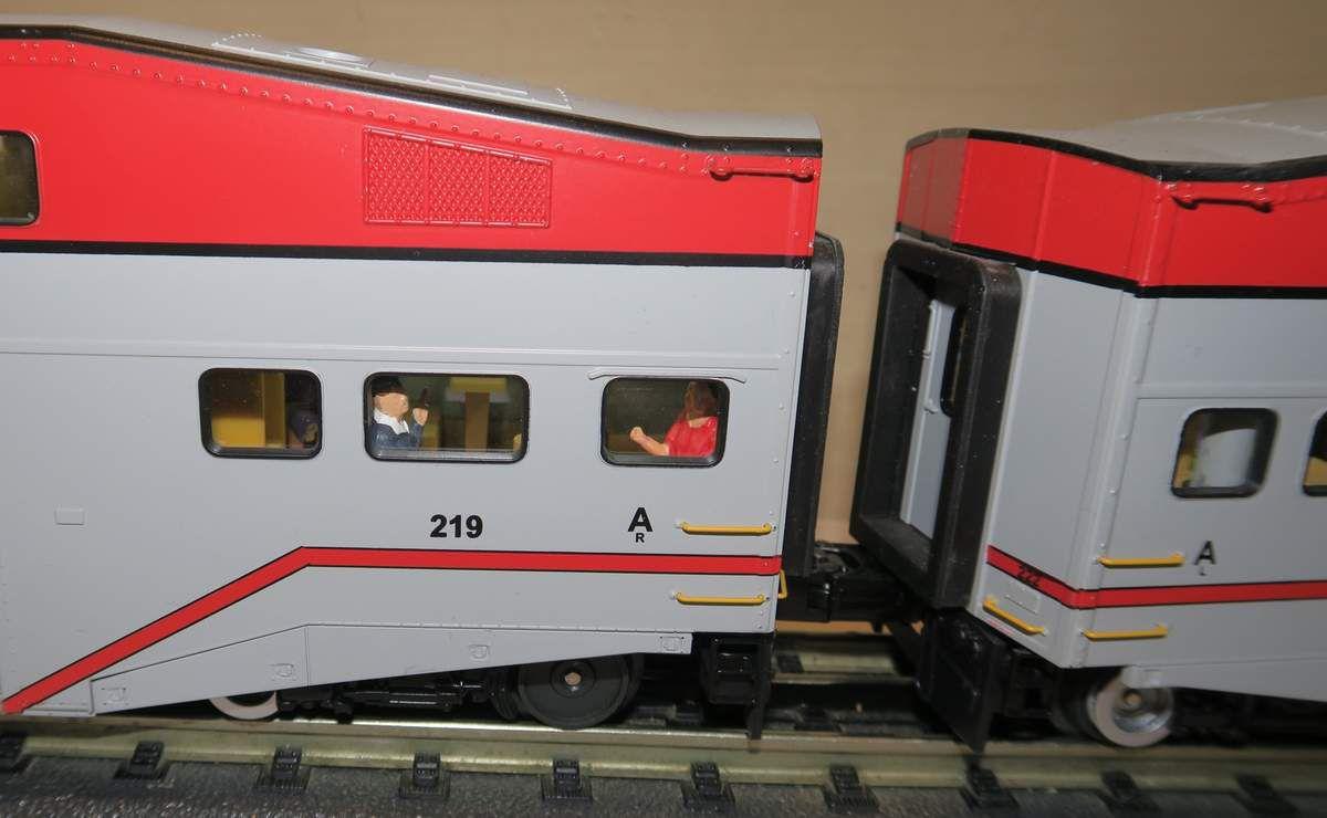 Les trains de banlieue Baby Bullet