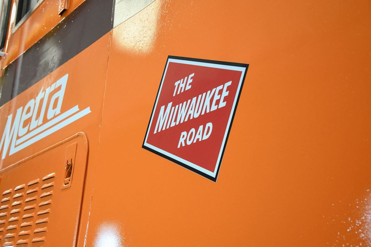 La nouvelle METRA Milwaukee Road