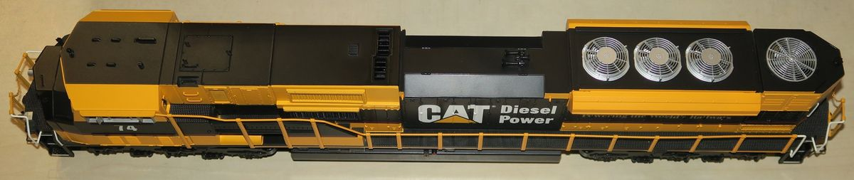SD90MAC Caterpillar de chez MTH