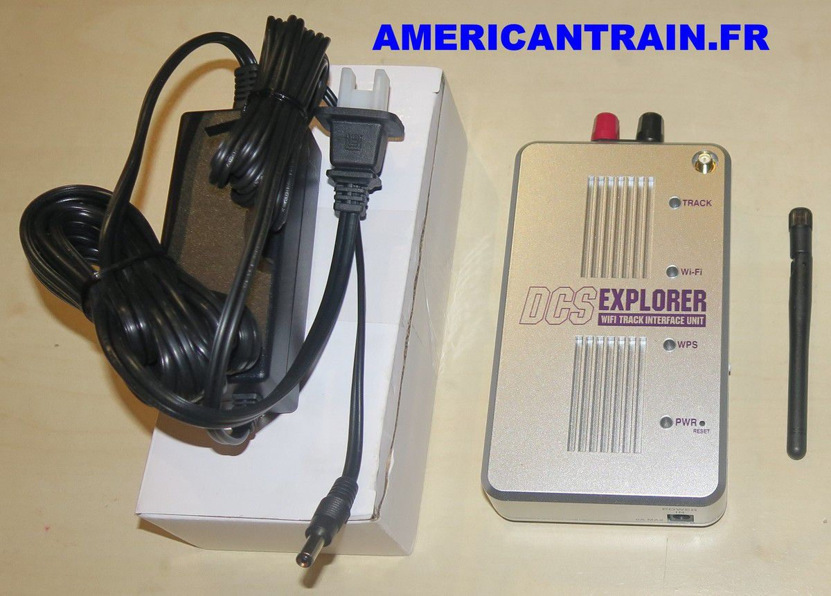 DCS Explorer Wi-Fi Track Interface Unit 50-1035 MTH