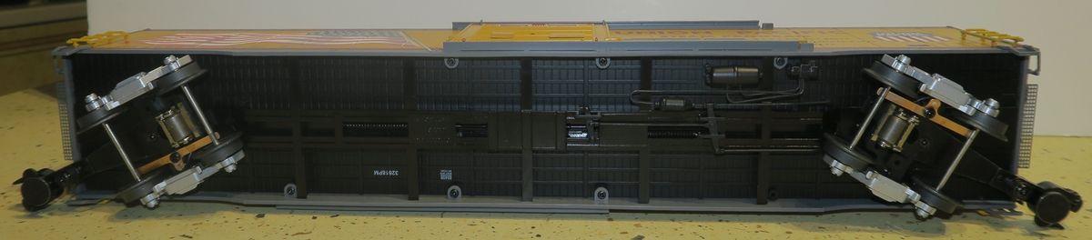 Les nouveaux Box Cars éclairage LED Lionel