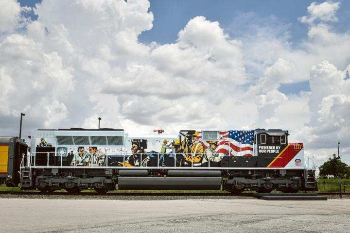 La nouvelle SD70ACe Union Pacific