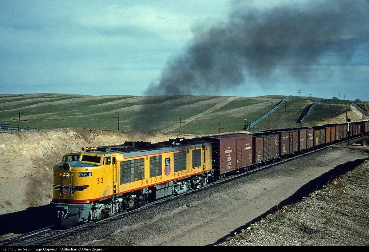 Union Pacific et les turbines à gaz
