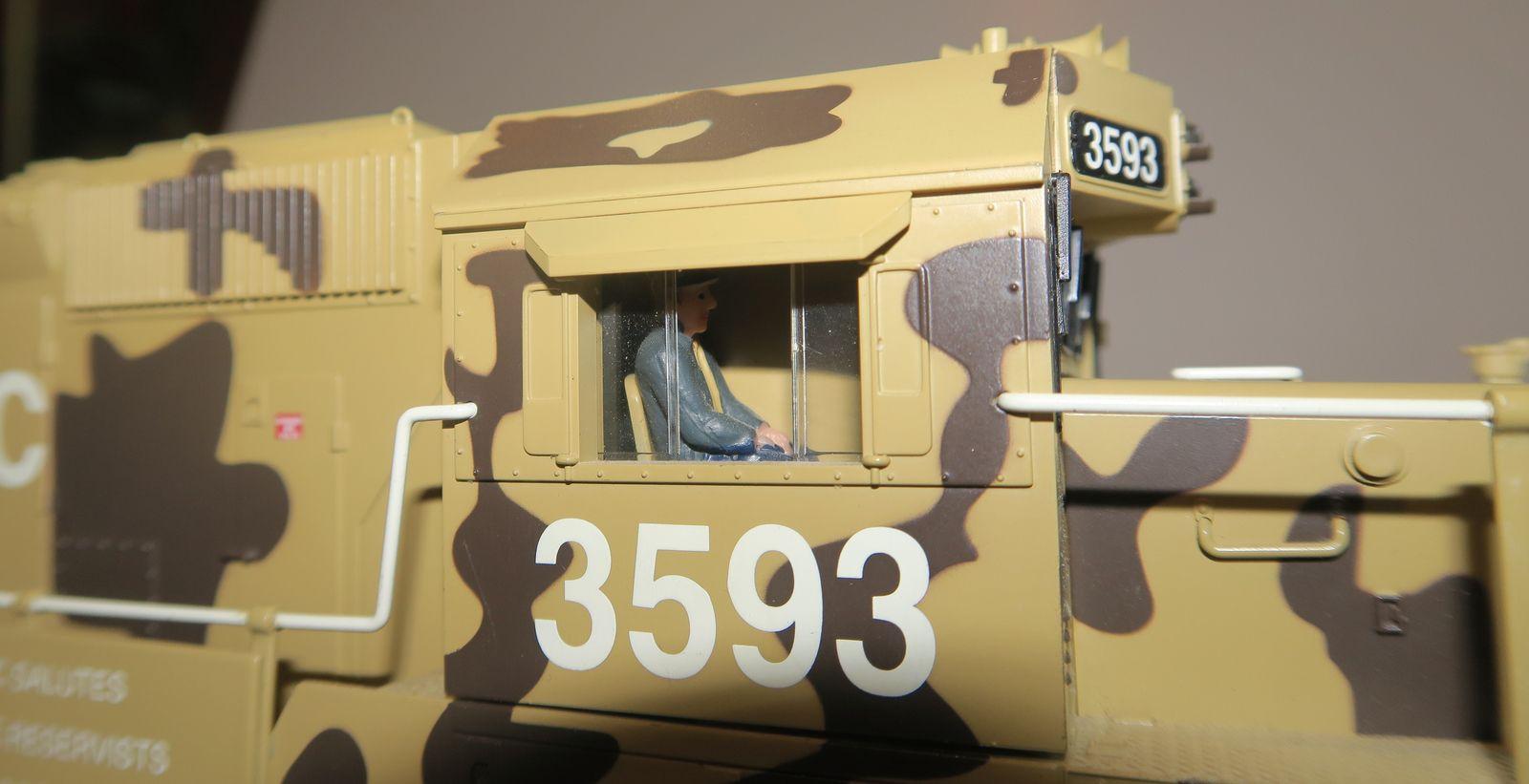 La SD40-2 Desert Victory de chez Lionel