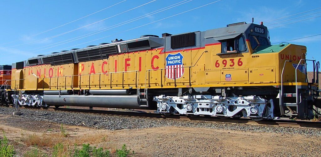L'U50C la diesel éphémère de l'Union Pacific