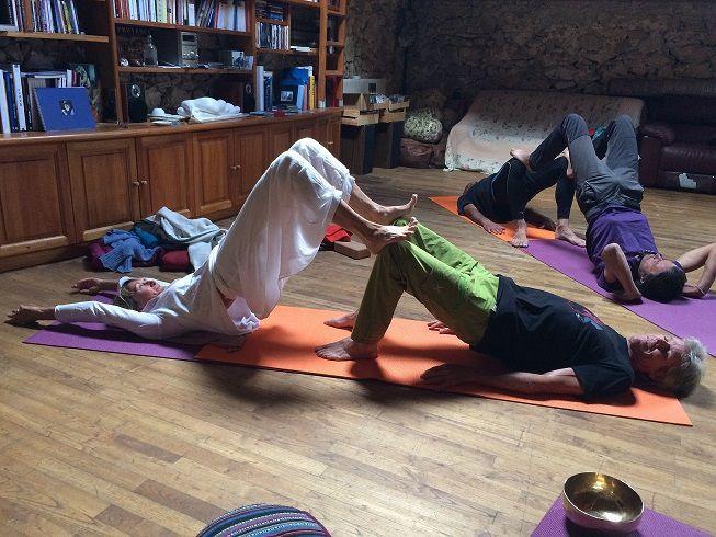yoga en duo