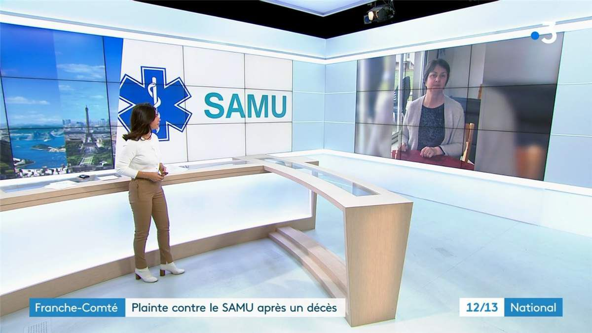 Emilie Tran Nguyen Le 12/13 France 3 le 28.11.2019