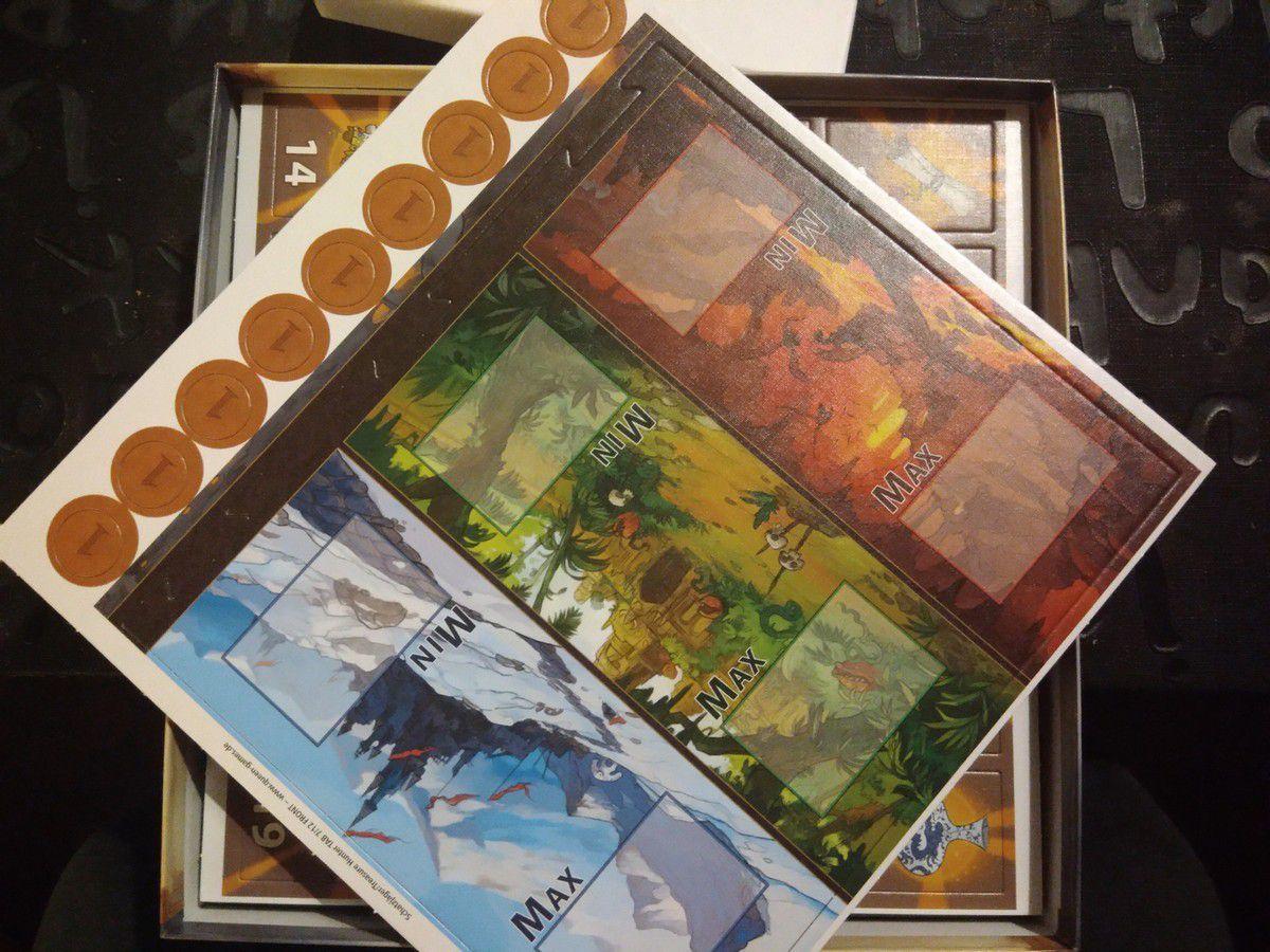 « Chasseurs de trésors » de Richard Garfield, chez Queen Games.