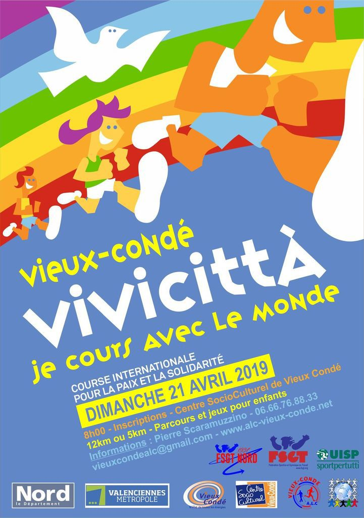 VIVICITTA 2019 : on court avec le Monde !