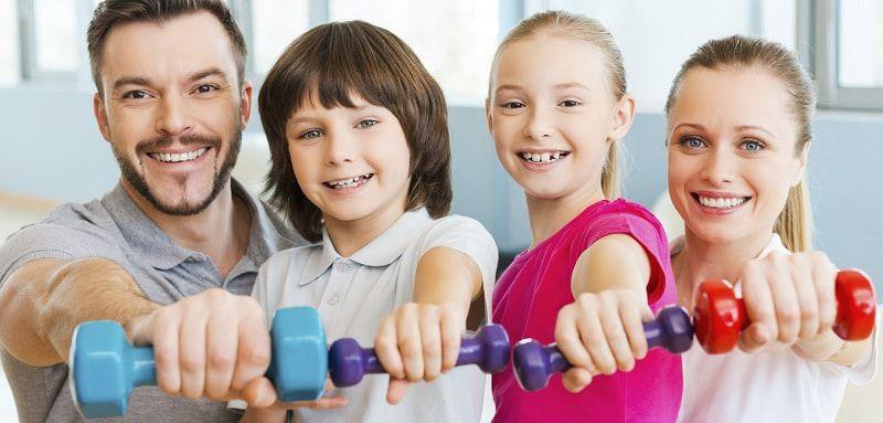 """""""Mieux  Vivre au quotidien : faire du sport avec les enfants"""""""