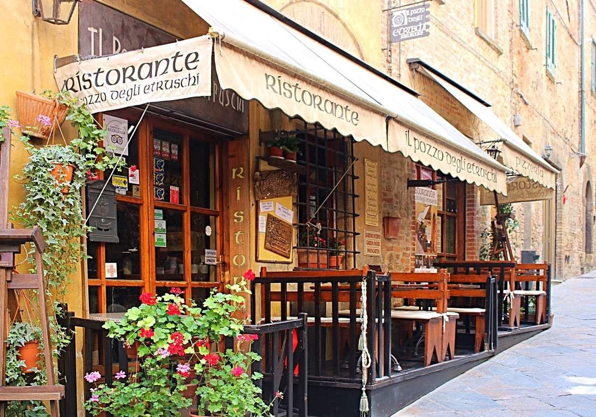 Toscane, sortie à Volterra