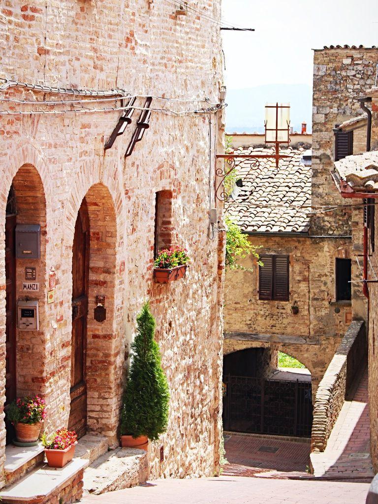 Toscane : Colle Val d'Elsa et San Gimigniano