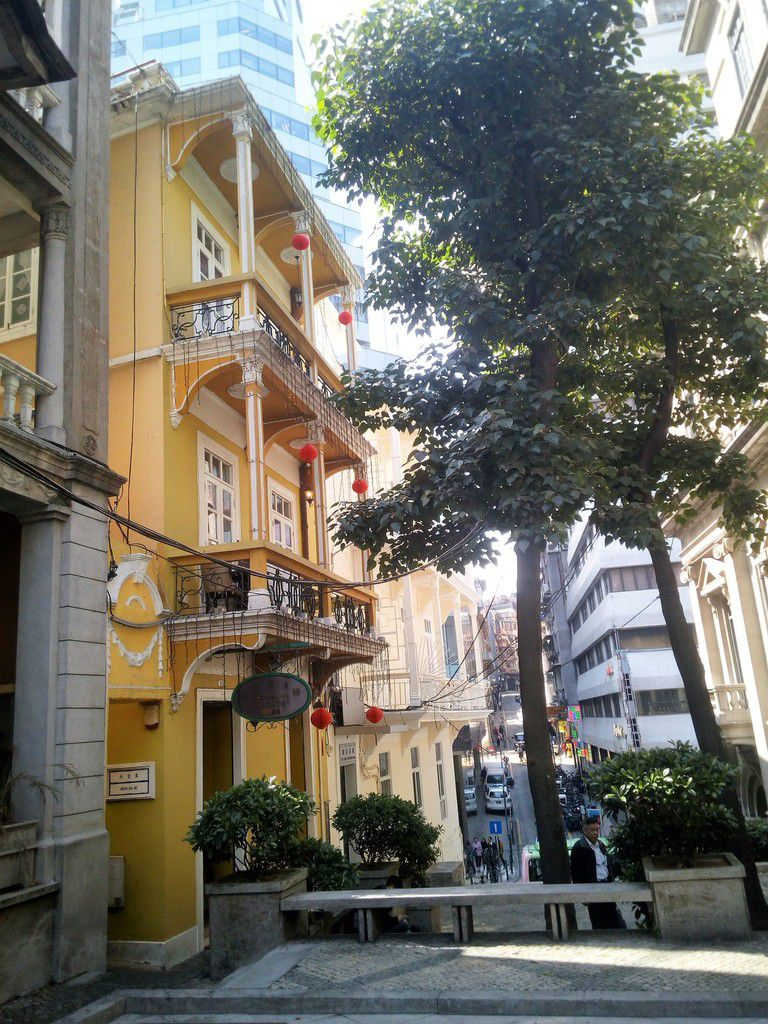 Macau la portuguaise et Hong Kong en expatriés