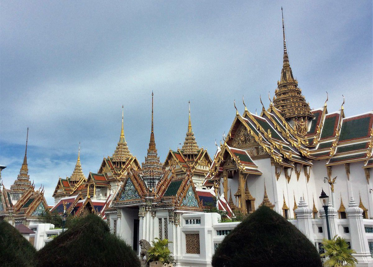 De retour en Thaïlande, sur la trace des Khmers et tuk tuk à Bangkok