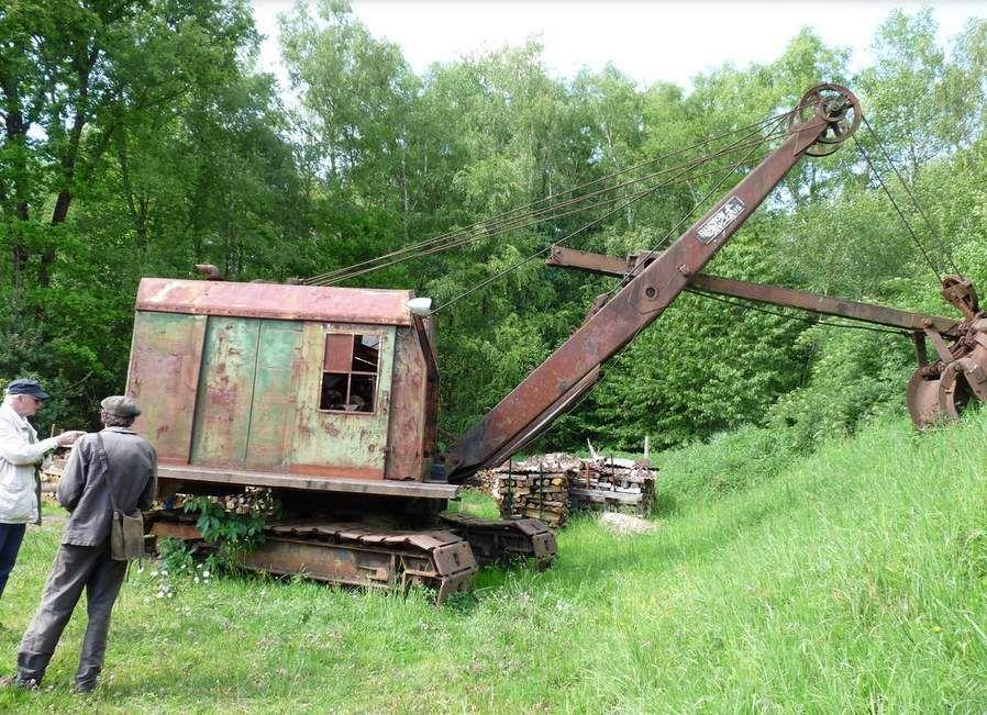 Visite du carreau de la mine de fer de la BRUTZ du dimanche 14 Mai 2017 -