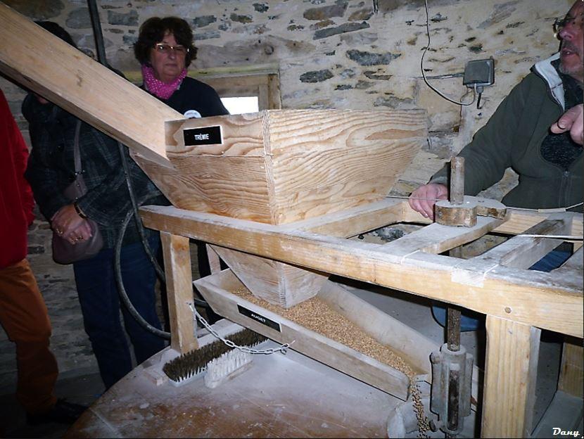 Découverte du moulin de la Garenne à Pannecé  le 11 mars 2018 .