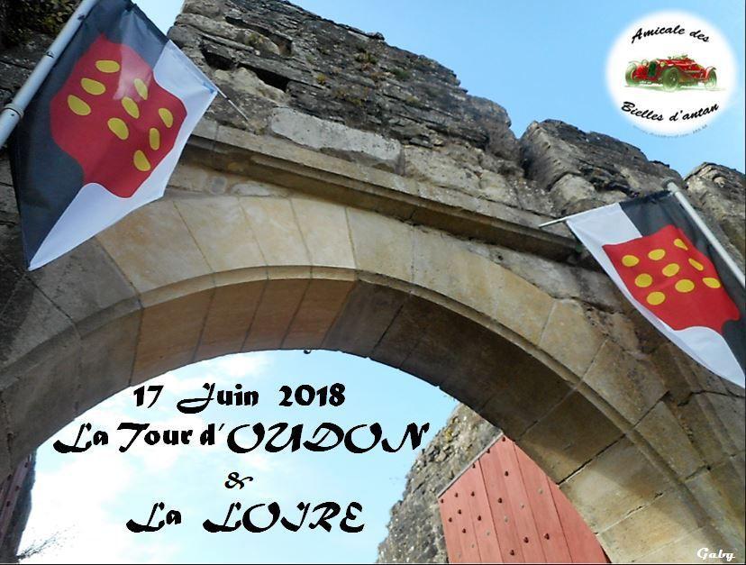 17 Juin  2018  La Tour d'OUDON   &   La  LOIRE