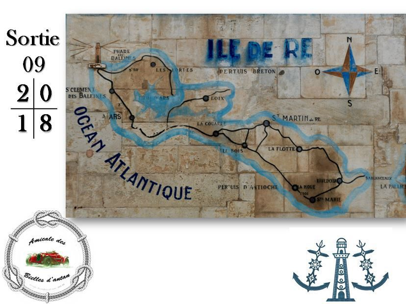 EXPEDITION  DE  L  ABA  SUR  L  ILE  DE  RE  du 14 au 16 Septembre 2018