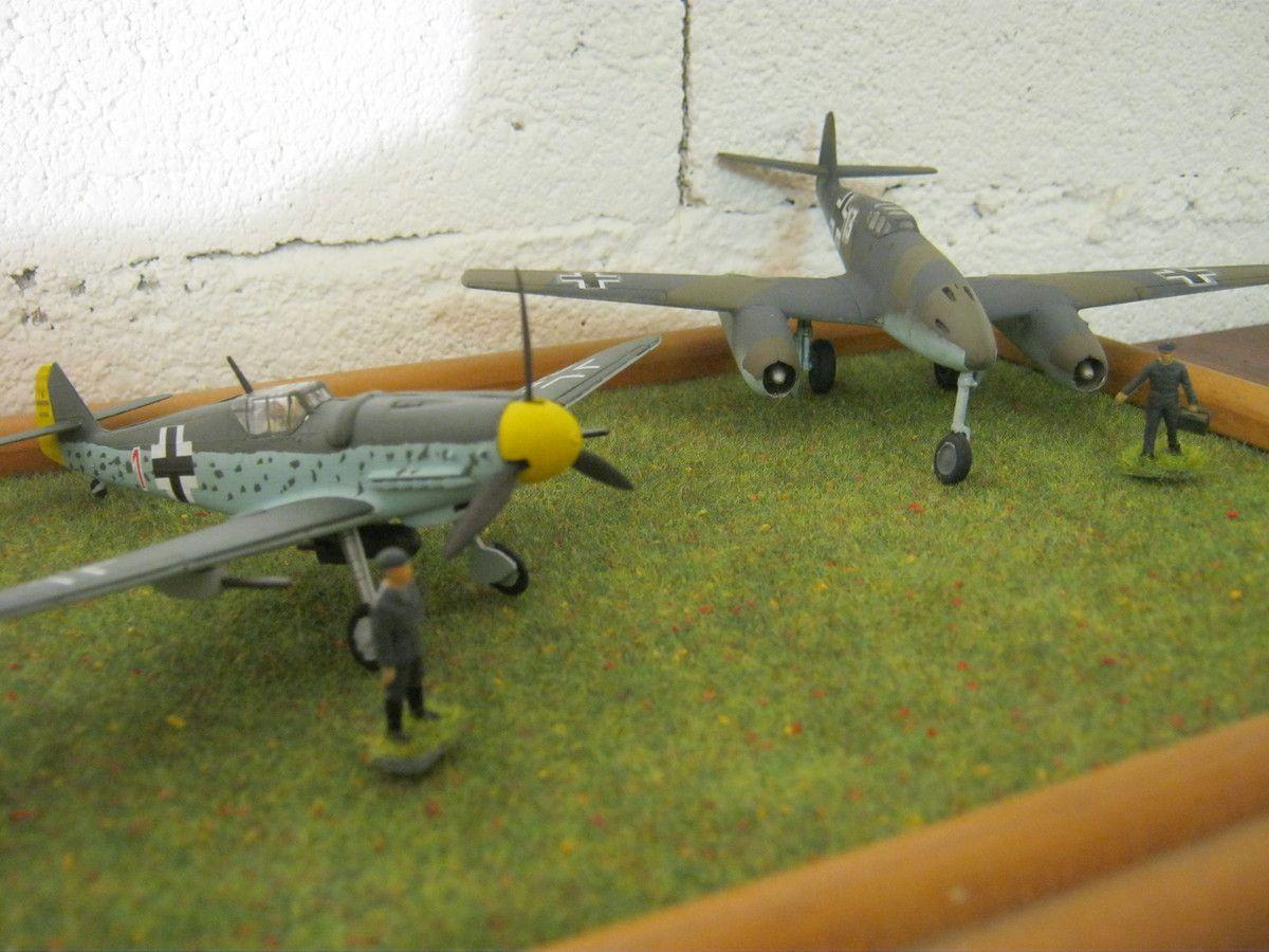 Le Me 109 conventionnel et le Me 109TL