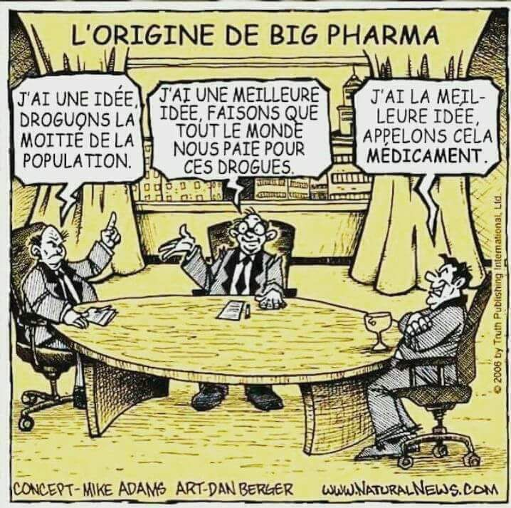 Lorsque la médecine tue,  le devoir de faire connaître la vérité doit prédominer ! Heureusement, tous les médecins ne sont pas concernés, loin de là, par ces pratiques, certains ont bien heureusement gardé leur éthique, il faut le dire aussi!