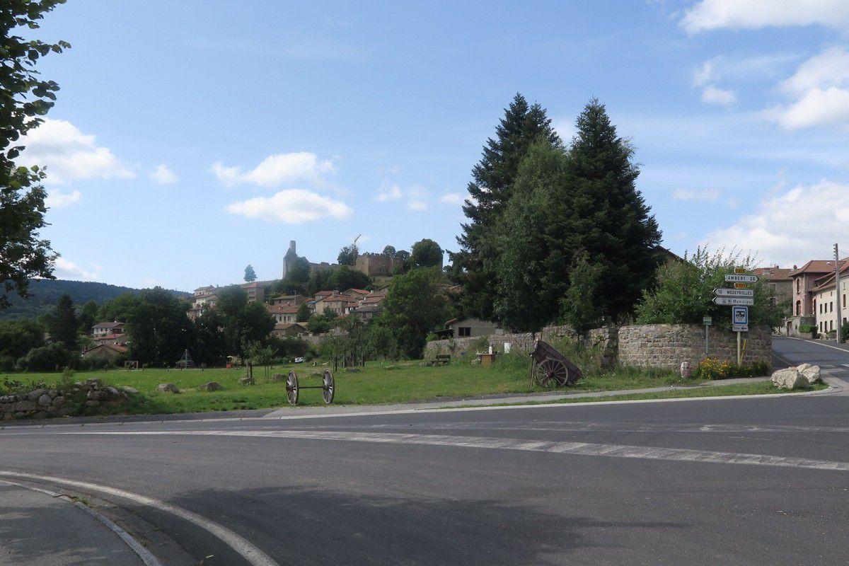 De Viverols au col de Chemintrans