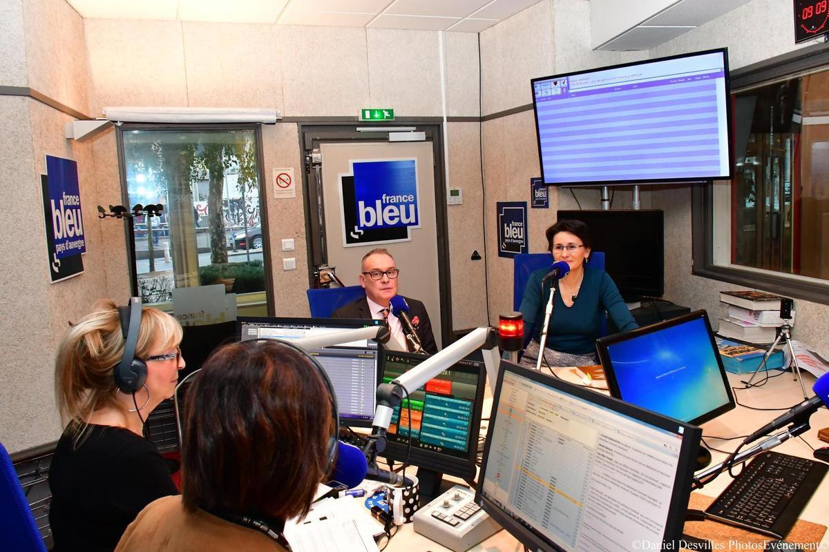 Lucie Agostinho, Nathalie Combre , Jean- Marc Houée et Claude Borghetto