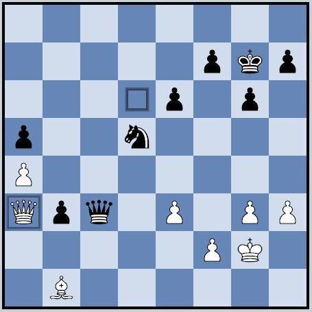 1 - Benjamin Koch - Nicolas Allongé, après le 38e coup blanc