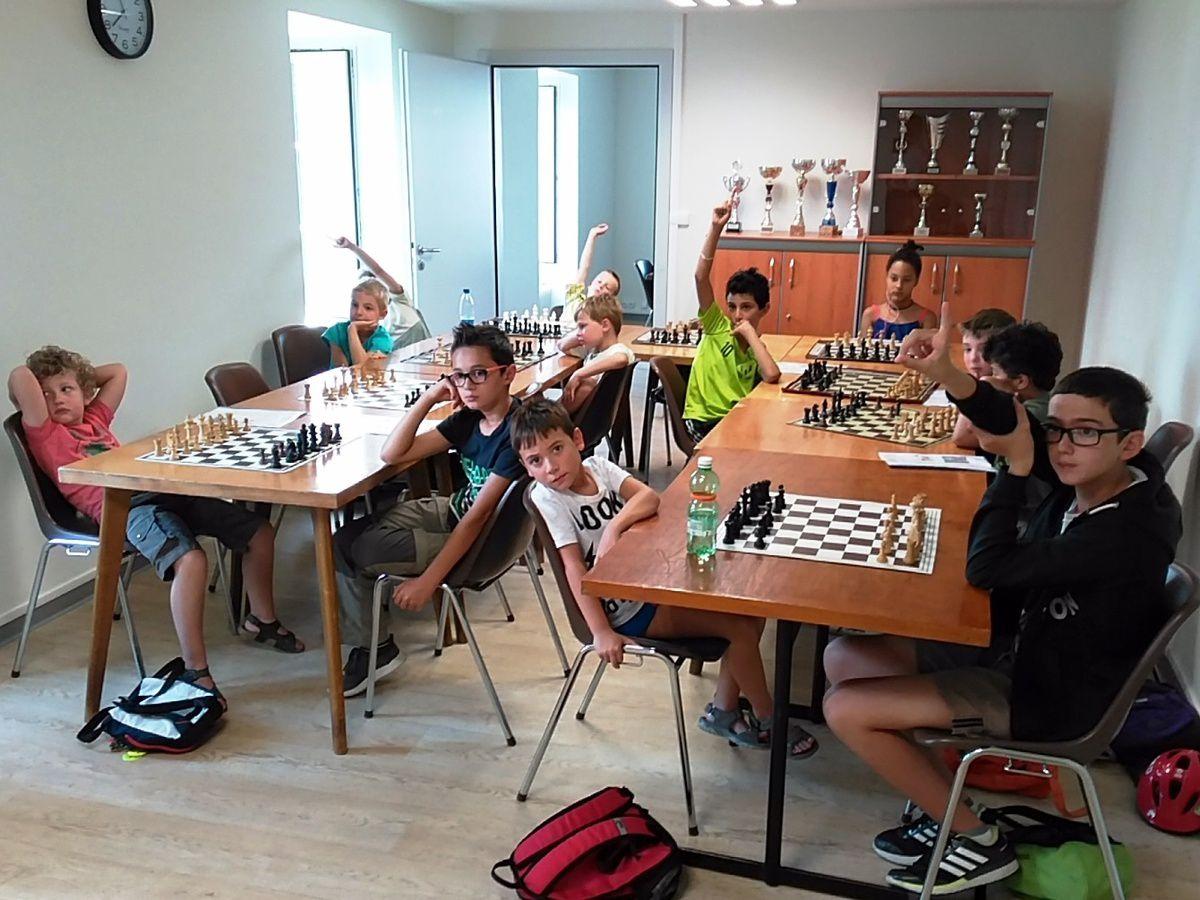 Stages d'été : les quatre stages d'initiation aux échecs ont accueilli cinquante-sept jeunes