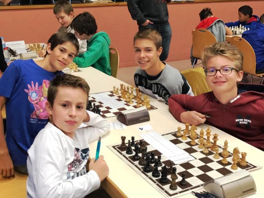Championnats départementaux des jeunes, à Merxheim