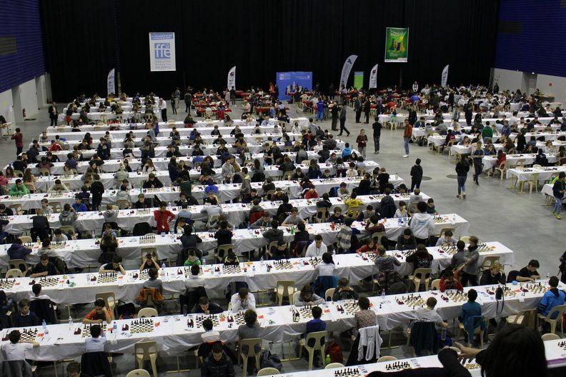 Du 15 au 22 avril - Championnat de France des jeunes, à Agen - 1/4