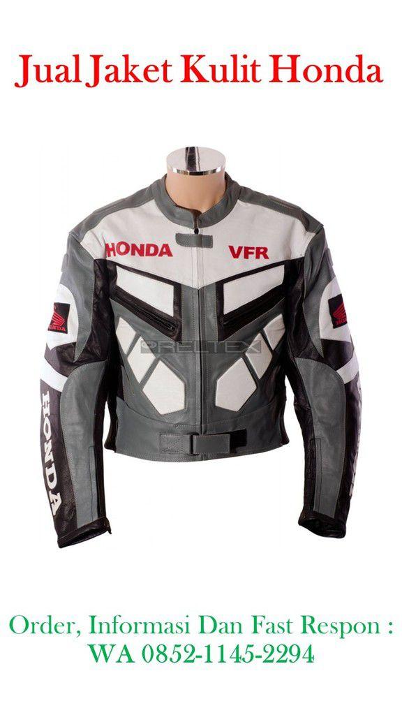 Toko Jual Jaket Kulit Honda Racing, Bahan terbauat dari Kulit Domba Kualita super dan BERGARANSI