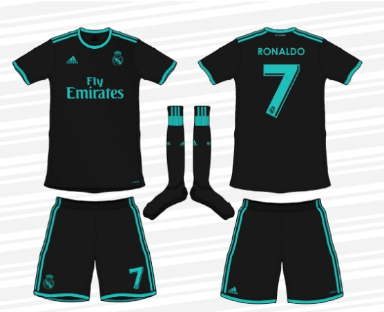 tenue de foot Real Madrid 2018