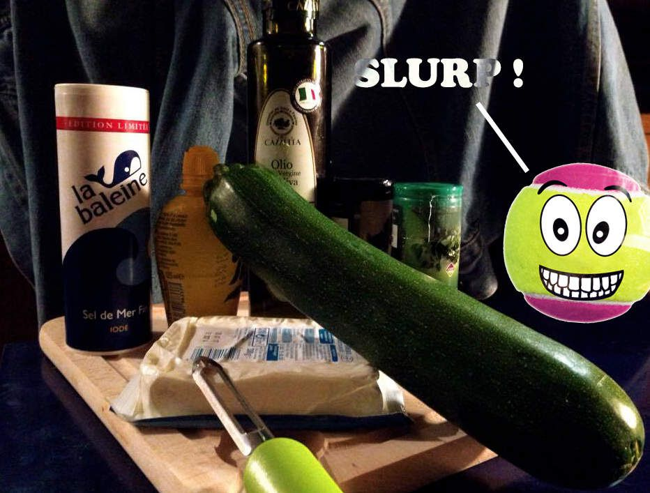 Balle courgette