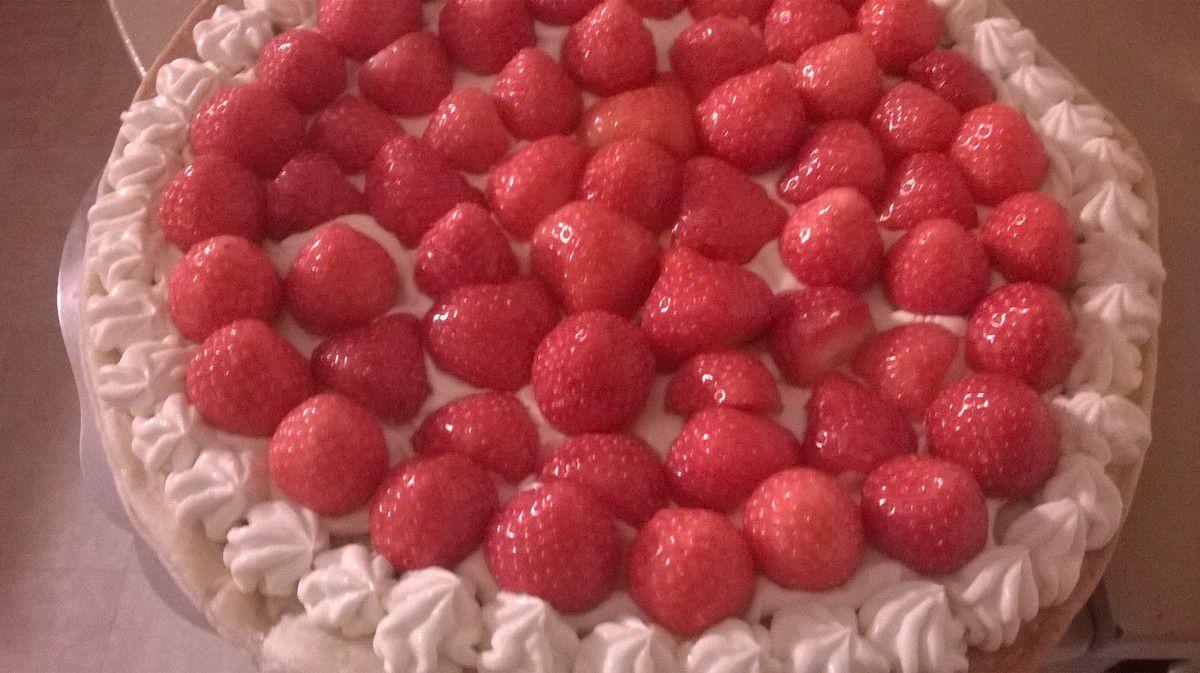 Ma tarte aux fraises