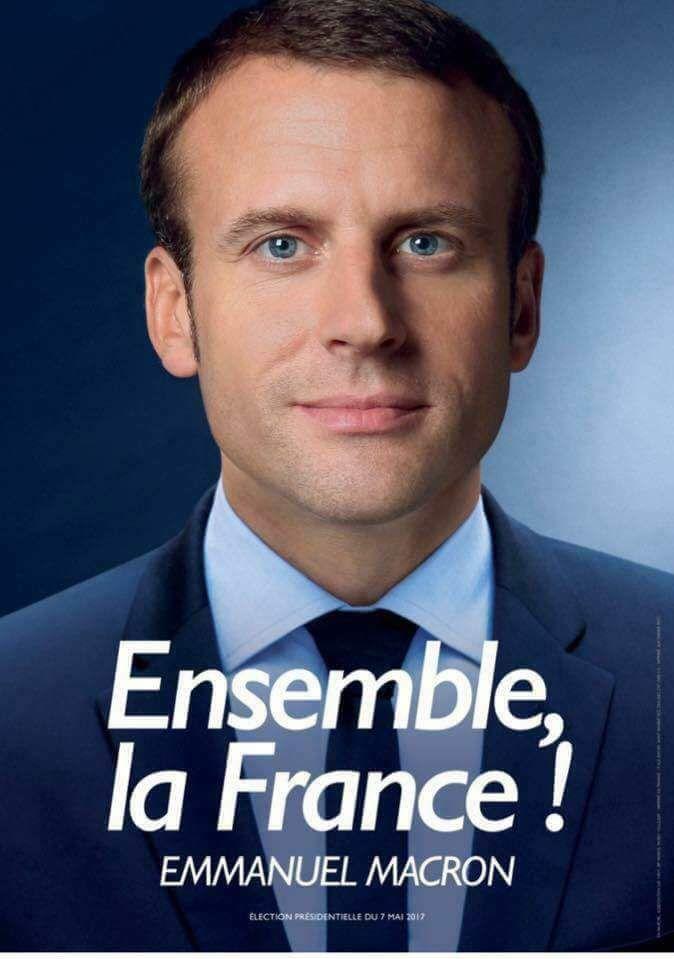 Emmanuel macron président , une victoire forte de symbole !