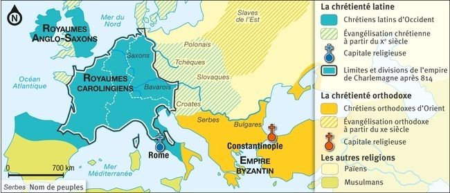 L'empire Byzantin : religion