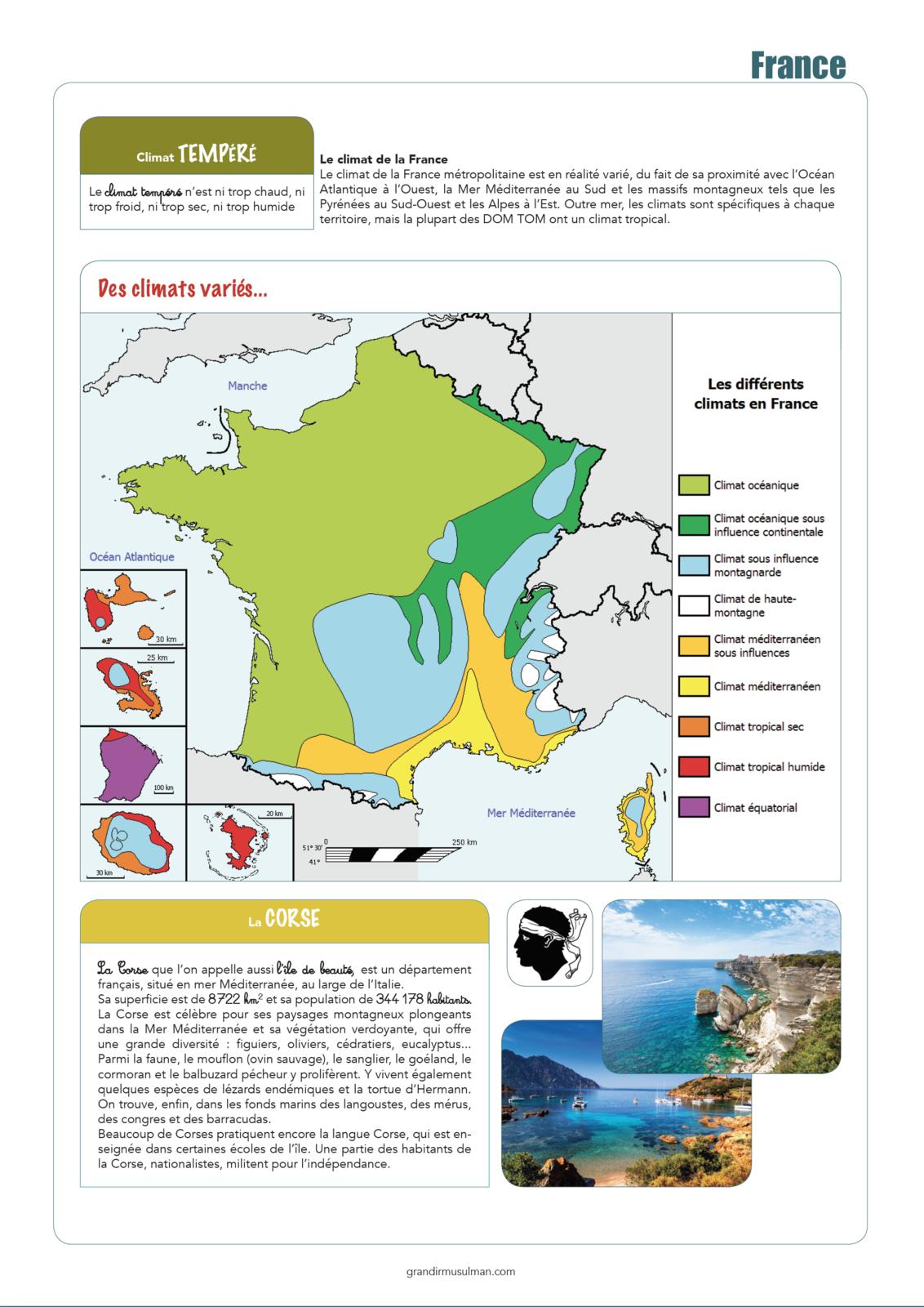 Tour du monde : France