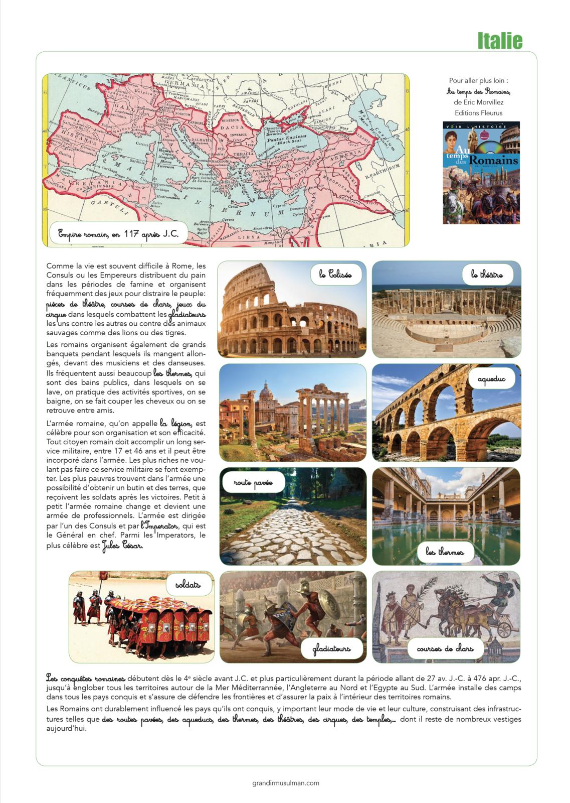 Notre tour du monde : Italie
