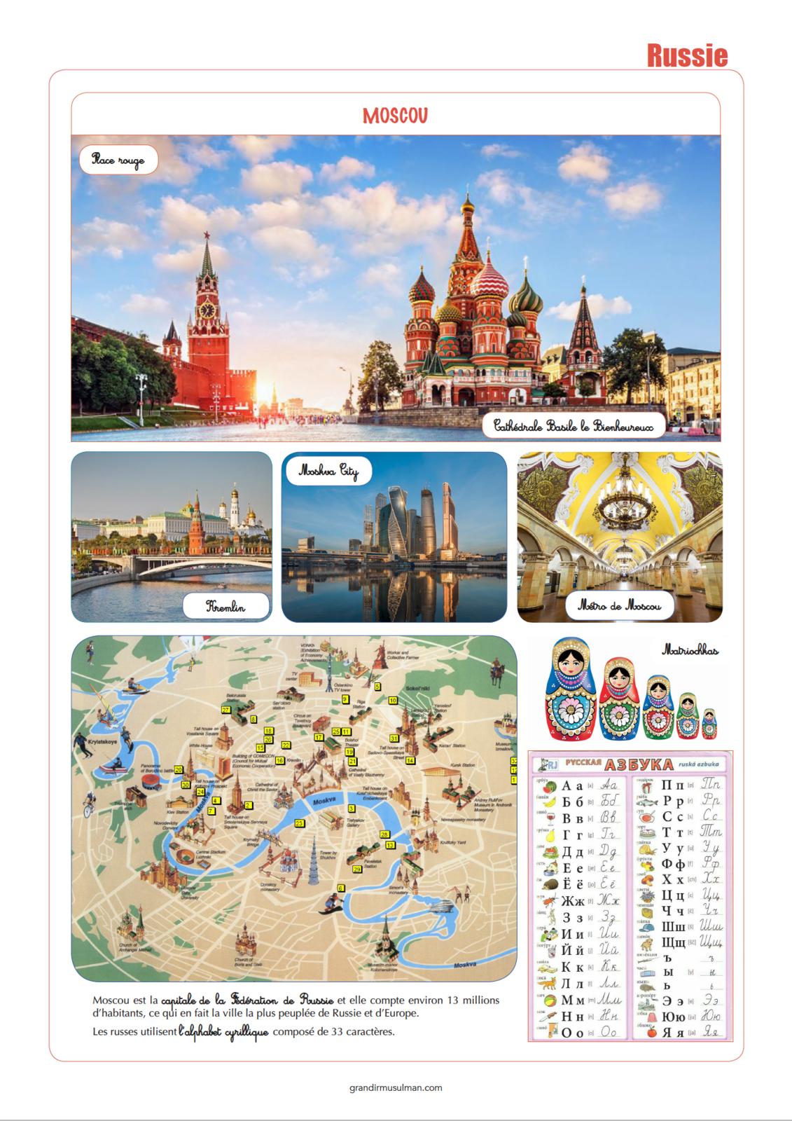 Notre Tour du monde: Russie